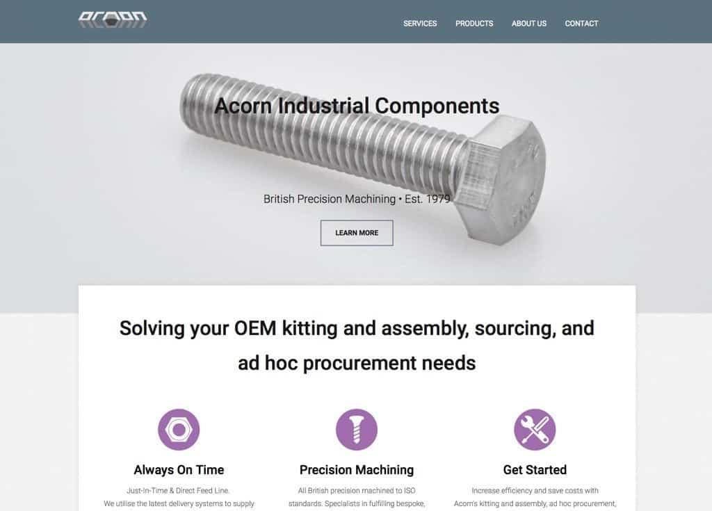 Acorn 2015 Website