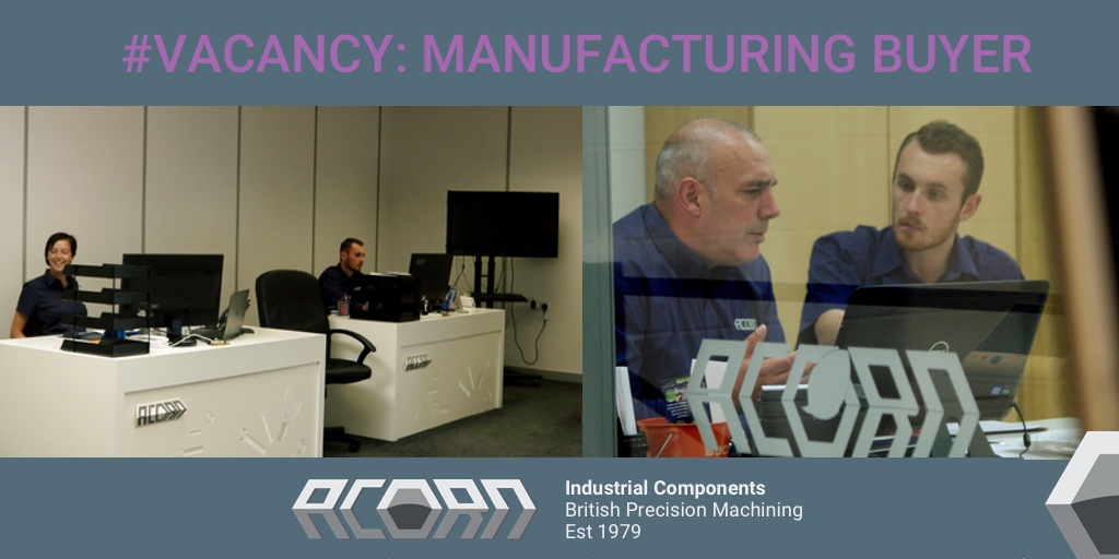 Wanted: Manufacturing Buyer